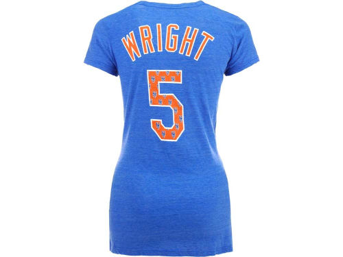 New York Mets MLB Womens Repeat Player T-Shirt