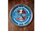 Detroit Lions Chrome Clock Bed & Bath