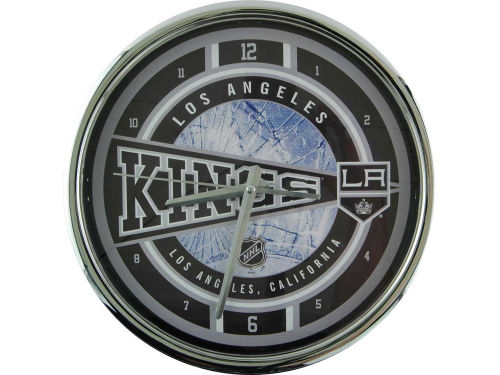 Los Angeles Kings Chrome Clock