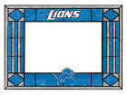 Detroit Lions Art Glass Picture Frame Bed & Bath
