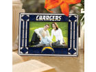 San Diego Chargers Art Glass Picture Frame Bed & Bath