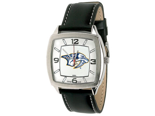 Nashville Predators Retro Leather Watch
