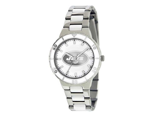 New York Jets Game Time Pro Pearl Series Ladies Watch