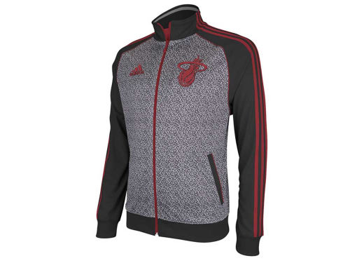 Miami Heat adidas NBA Static Track Jacket