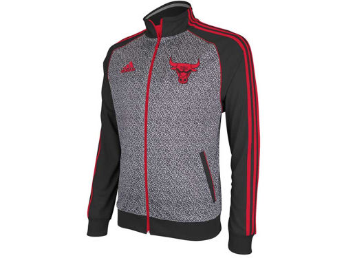 Chicago Bulls adidas NBA Static Track Jacket