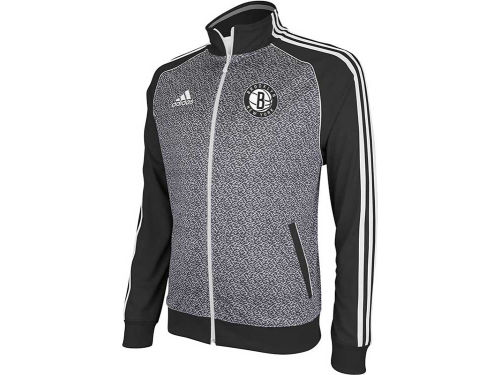 Brooklyn Nets adidas NBA Static Track Jacket