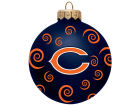Chicago Bears Team Color Swirl Ornament 3