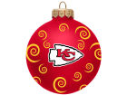 Kansas City Chiefs Team Color Swirl Ornament 3