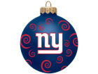 New York Giants Team Color Swirl Ornament 3
