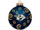 Nashville Predators Team Color Swirl Ornament 3