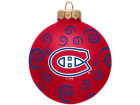 Montreal Canadiens Team Color Swirl Ornament 3