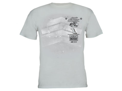 Jamie McMurray Motorsports Authentics Silver Crest T-Shirt