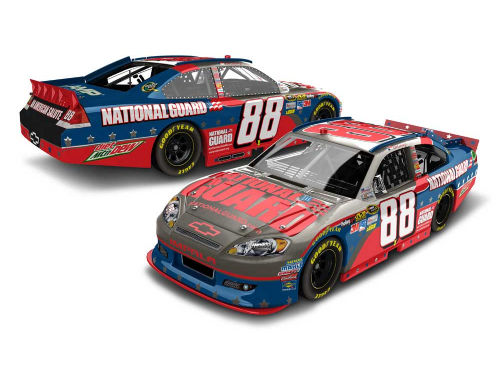 Dale Earnhardt Jr. NASCAR 2012 1:24 Brushed Metal