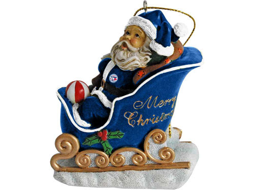 Toronto Blue Jays Santa Sleigh Ornament