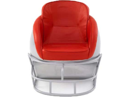 Ohio State Buckeyes Helmet Chair
