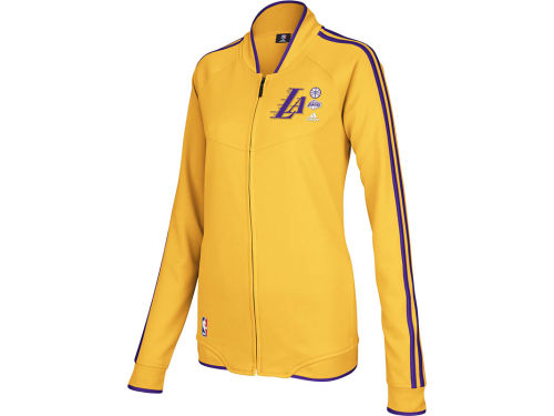 Los Angeles Lakers adidas NBA Womens On Court Track Jackets