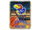 Kansas Jayhawks 48x60 College Vault Woven Throw Bed & Bath