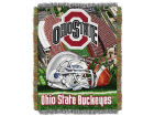Ohio State Buckeyes 48x60 College Vault Woven Throw Bed & Bath