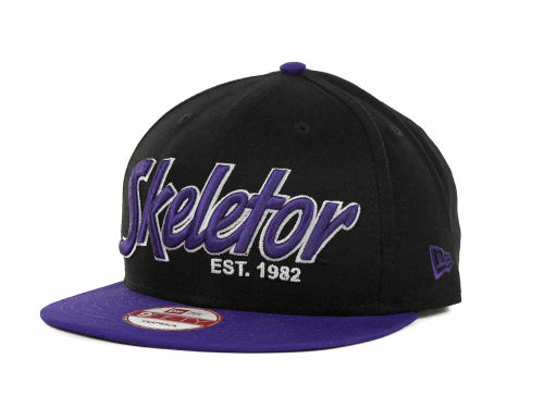 Skeletor New Era Estalished Snap 9FIFTY Cap Hats