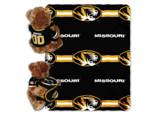 Missouri Tigers The Northwest Company Mascot Pillow and Throw Combo