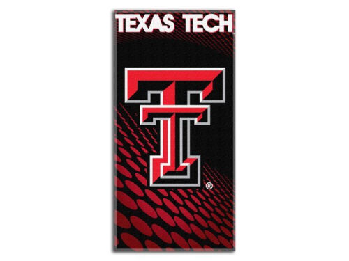 Texas Tech Red Raiders Emblem Beach Towel-NCAA