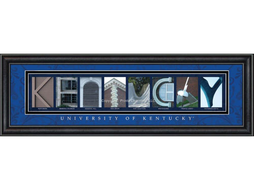 Kentucky Wildcats Campus Letter Art
