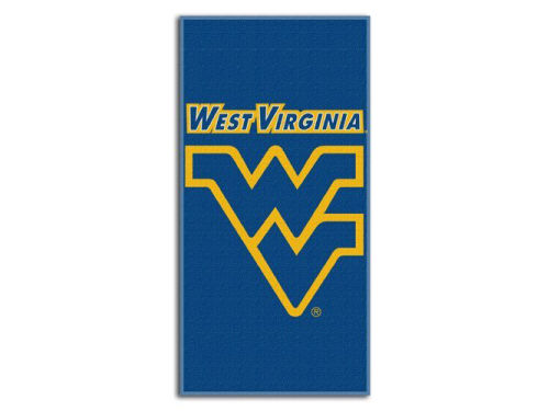 West Virginia Mountaineers Emblem Beach Towel-NCAA