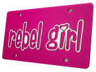 Mississippi Rebels Glitter Laser Tag Auto Accessories