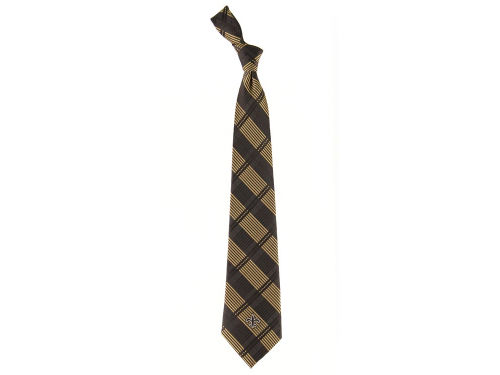 New Orleans Saints Eagles Wings Necktie Woven Poly Plaid