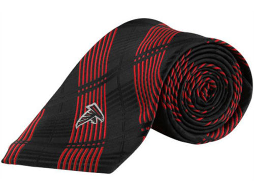 Atlanta Falcons Eagles Wings Necktie Woven Poly Plaid
