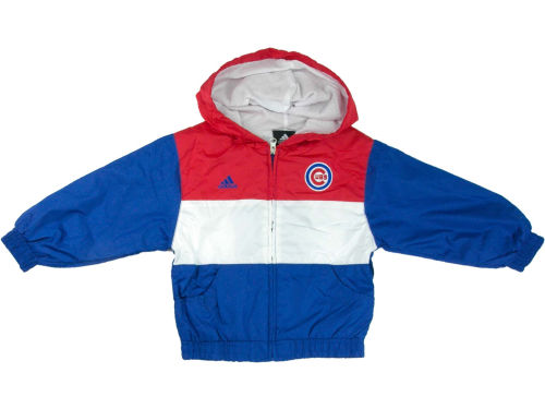 Chicago Cubs Outerstuff MLB Kids Full Zip Hooded Jacket & Pant Set