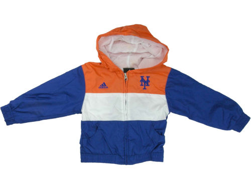 New York Mets Outerstuff MLB Kids Full Zip Hooded Jacket & Pant Set
