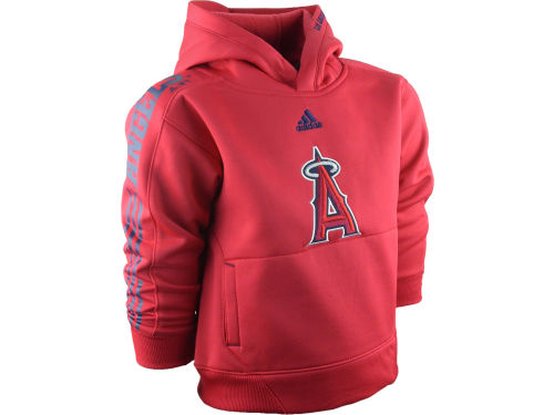 Los Angeles Angels of Anaheim adidas MLB Kids Sideline Swagger Hoodie