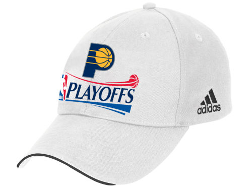 Indiana Pacers adidas 2012 NBA Basic Playoffs Caps Hats