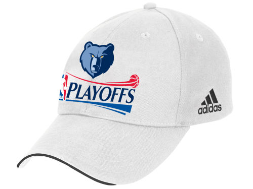 Memphis Grizzlies adidas 2012 NBA Basic Playoffs Caps Hats