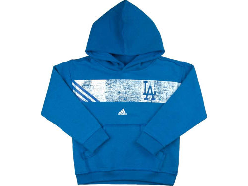 Los Angeles Dodgers adidas MLB Kids Striped Glory Hoodie
