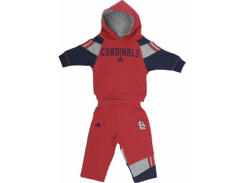 St. Louis Cardinals Outerstuff MLB Toddler Hooded Fleece & Pant Set