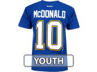 St. Louis Blues McDonald Outerstuff NHL Player T-Shirt T-Shirts