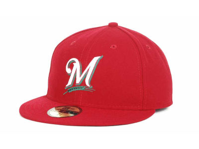 Milwaukee Brewers 2012 Heritage Authentic Collection 59FIFTY Hats