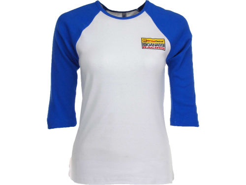 Graham Rahal Racing Womens Baby Rib 3/4 Raglan T-Shirt