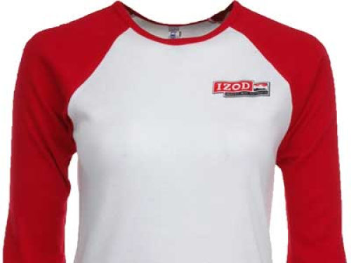Dario Franchitti Racing Womens Baby Rib 3/4 Raglan T-Shirt