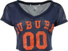 Auburn Tigers NCAA Womens Cropped Jersey Jerseys