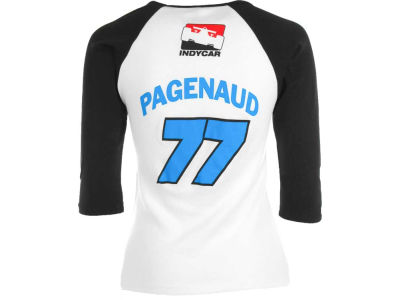 Simon Pagenaud Racing Womens Long Sleeve Block Name And Number Driver Tee