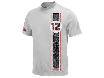 Will Power Racing Mens Vert Stripe Driver T-Shirt