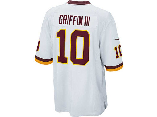 Washington Redskins GRIFFIN III Nike NFL Game Jersey