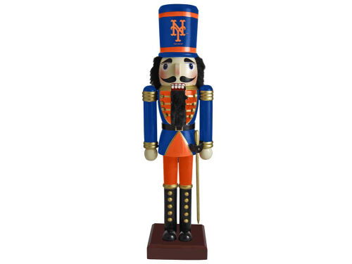 New York Mets Nutcracker Ornament