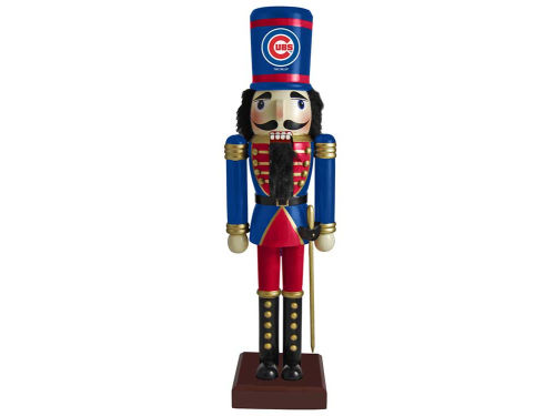 Chicago Cubs Nutcracker Ornament