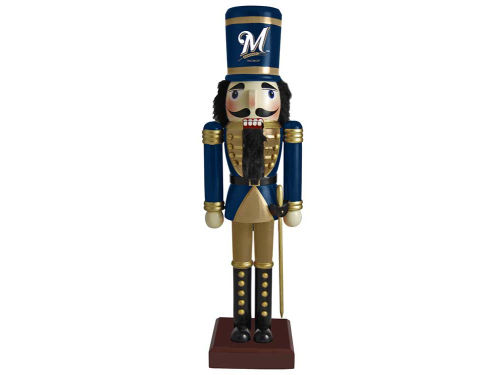 Milwaukee Brewers Nutcracker Ornament