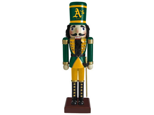 Oakland Athletics Nutcracker Ornament