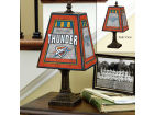 Oklahoma City Thunder Art Glass Table Lamp Bed & Bath